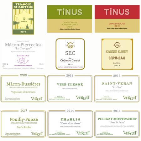 """- Caisse découverte """"Les Vins de Guffens"""" - 12 bouteilles"""