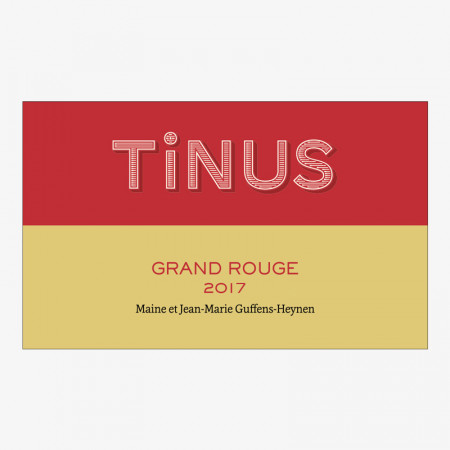 Vin de France Tinus Rouge - 2017