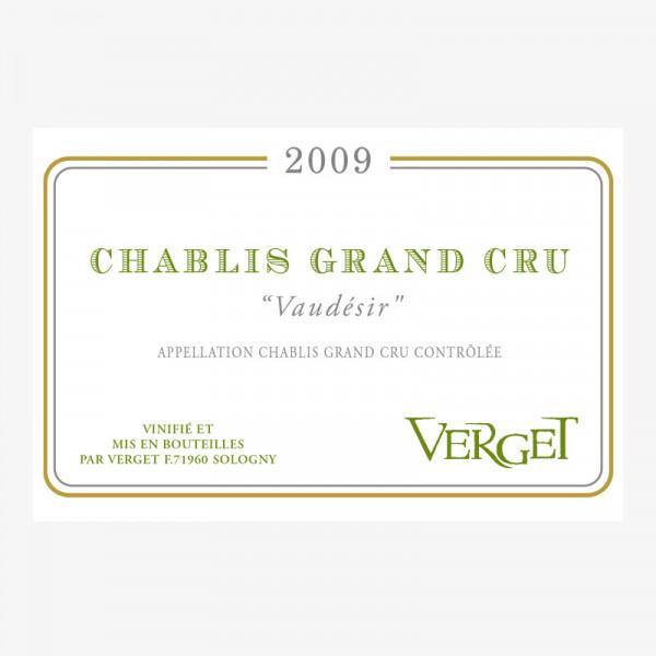 "Chablis Grand Cru ""Vaudésir"" - 2009"
