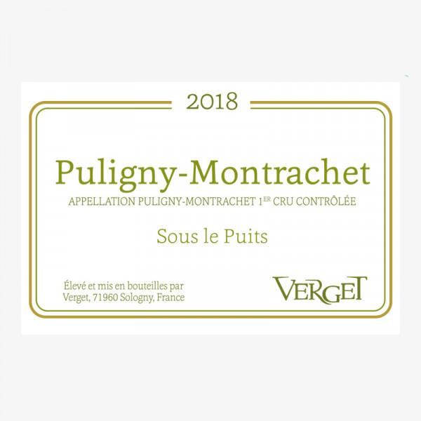 Puligny-Montrachet 1er Cru « Sous le Puits » - 2018