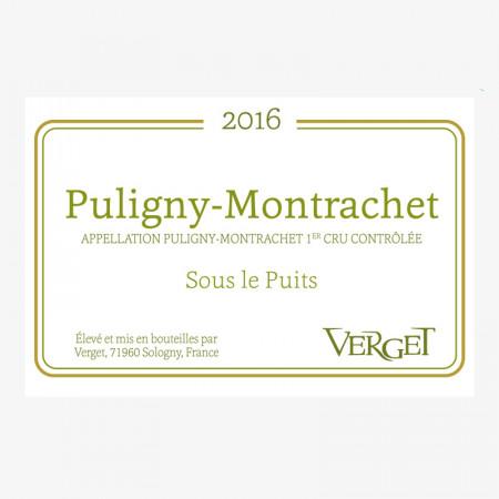 """Puligny-Montrachet 1er Cru """"Sous le Puits"""" - 2016"""