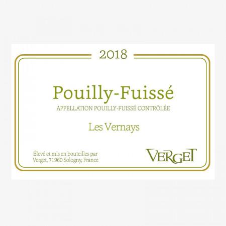 Pouilly-Fuissé « Les Vernays » - 2018