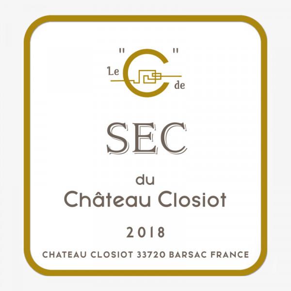 Bordeaux Blanc C de Sec - 2018
